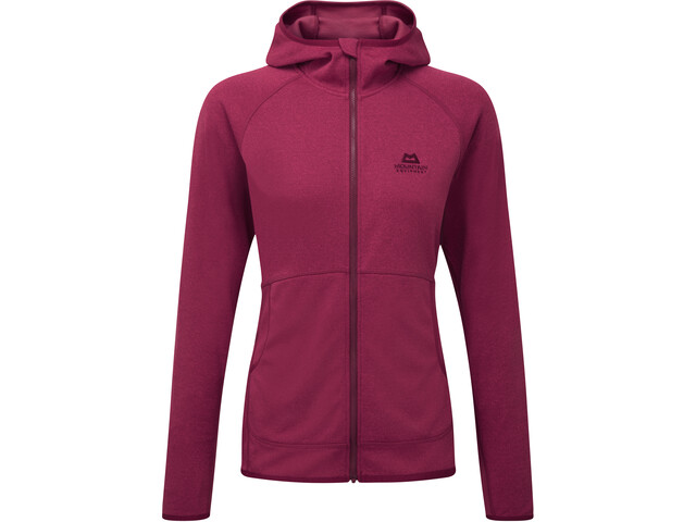 Mountain Equipment Calico Hooded Jacket Women Cranberry